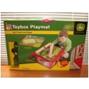 John Deere Toybox Playmat w/ Tractor & Wagon - VERY COOL!